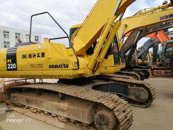 Usado Bom Estado Komatsu 22 Ton escavadora de rastos220-7 do PC para a construção