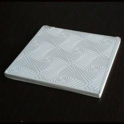 비닐에 의하여 직면되는 PVC에 의하여 박판으로 만들어지는 석고 천장 도와
