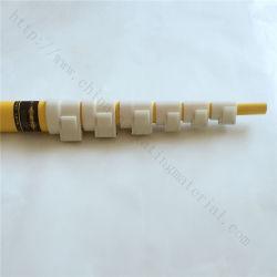 12m Triangle Hot Stick tubo telescópico para o fusível de corte de pára-HV Isolamento Telescópico da Haste de Operação
