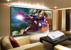 이 801 LED 영사기 2000 루멘 인조 인간 WiFi 3D Beamer 가정 영화관 극장 영사기 LCD 비디오 게임 HDMI VGA 텔레비젼
