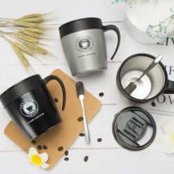 2020昇進新しい方法によってカスタマイズされるロゴ304のステンレス鋼の真空のコップの簡単な絶縁体のコーヒー・マグの広告