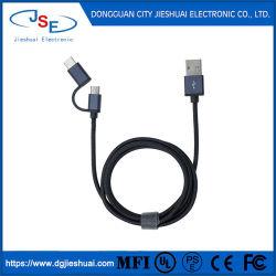 Bande de gros câble USB 3 en1 USB câble de données escamotable Câble de charge à vitesse rapide