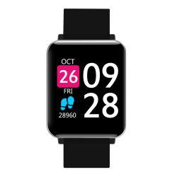 Menos de USD8/PC deporte de moda Bluetooth Smart exterior impermeable reloj de pulsera Reloj Pulsera para ISO Android