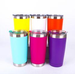 中国の工場BPAは高品質のステンレス鋼水コップビールタンブラー旅行コーヒー・マグのびんの真空フラスコの卸売を放す