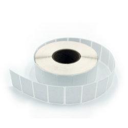 SGS étiquette thermique directe, blanc à blanc autocollant de code à barres
