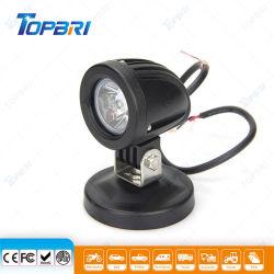 Autopartes 2inch Portable negro de 12V 10W luz LED de trabajo