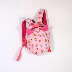 Lo Zaino pratico superiore resistente all'uso dei bambini per il viaggio del banco scherza la tela di canapa Bookbags