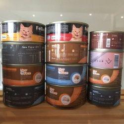 85g/100g/150g/175g Personalizar OEM/ODM gato mojado Conservas Perro aperitivos trata productos de alimentación líquida