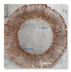 유리 둥근 컬러 플레이트 Crystal Clear Charger Plate