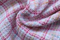 La Chine la meilleure qualité à prix raisonnable Tweed tissu coloré