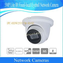 Dahua CCTV Câmara IP 5MP Lite Fixed-Focal infravermelho câmera de rede globo ocular (IPC-HDW2531TM-como-S2)