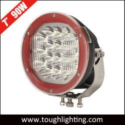 """LED CREE da 12 V 24 V 7"""" con fascio combinato IP67 da 90 W. Luci di lavoro offroad per auto 4X4"""