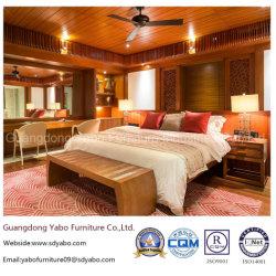 Hôtel moderne avec mobilier de chambre à coucher ensemble mobilier en teck Set (YB-S811-1)