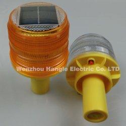 Hochwertige PC LED Solar Powered Traffic Barrikade Warnleuchte, LED Warnleuchte / blinkende LED-Solarleuchten