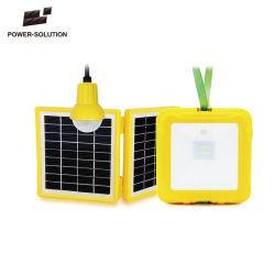 2018 Outubro última Lâmpada Lanterna Solar de LED Recarregável com carregador de telemóvel para camping