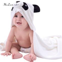 High Quality Kids peuter Elephant Duck Unicorn Shark Animal Head Beach Shower Soft Organic Cotton Terry Hooded Baby Badjas Cotton Handdoek