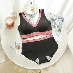 OEM Vest van de Bustehouder van het Ondergoed van de Lingerie van Dames het Vastgestelde Sexy Geschikt voor Vrouwen
