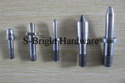 Spezialstahl ASTM1010 CNC Gefräster Gewindedübel (F-083)