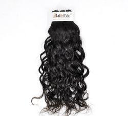 Peruanische Franzosen bewegen unverarbeitetes Jungfrau-Haar für Einzelhändler wellenartig (Grad 9A)