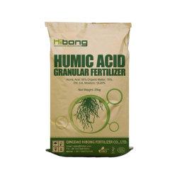 Landwirtschaftliche Organische Dünger Produkt 50% Humasäure Granular Wasserlöslich Organischer Dünger