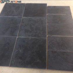 Natuurlijk Geborsteld Zwart Kalksteen voor de Tegel van de Tuin/van het Zwembad/van de Vloer