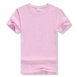 Magliette su ordinazione 100% di Woman&Men di alta qualità del cotone