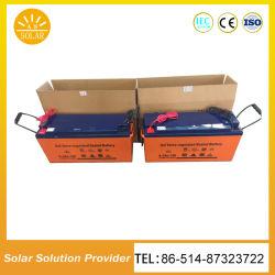 태양 에너지 시스템을%s 도매 태양 전지 12V에 의하여 사용되는 통신 건전지 건전지 태양 전지