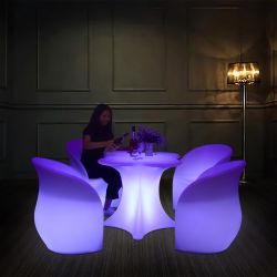 Mobilier lumineux Set Night Club de l'éclairage LED lumineux table