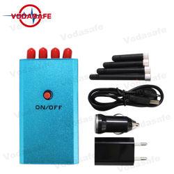 Quatro antenas 2G 3G portátil GPS sinal móvel Jammer Mini-Size Pocket Call Blocker Block Phone
