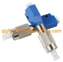 La fibre optique FC, fibre optique de l'adaptateur LC mâle à LC FC hybride femelle adaptateur fibre optique, adaptateur de connecteur de cloison hybride