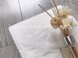 Pulpa de madera virgen 2ply 23x23cm servilleta de papel tisú OEM