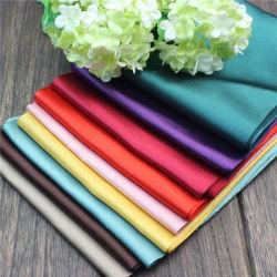 1.3m Smooth lucido colore pieno 100% poliestere lucido satinato seta Tessuto per biancheria da letto
