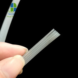 1.5mm 2.5mm 4mm 10m 고무 코드 튜브형 코드