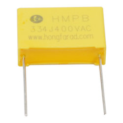 *MKP X2 condensateurs à film polypropylène métallisé avec approbations de sécurité