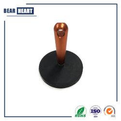 D88mm revestido de caucho de olla magnético del imán de neodimio Pot