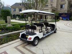 Montée élevé et faible bruit avec 6 passagers voiturette de golf