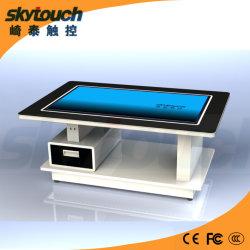 Bouchon de 43pouces P-Touch de thé avec tiroir table acier inoxydable