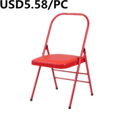 Economico Prezzo telaio in plastica portatile PP interno sedia pieghevole