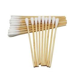 Baumwolapplikatoren-heißer Verkaufs-medizinische Produkt-Holz-/Bambus-/Plastikverschiedene Größen