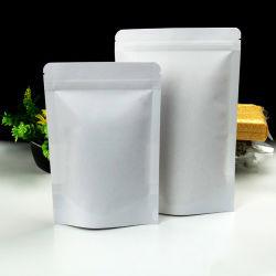 وقفت فوق [كرفت ببر] [دوبك] حرارة - ختم صوف مبلمر سحاب حزمة حقيبة طعام وجبة خفيفة [رسلبل] حزب صمام حقيبة [متّ] بيضاء بلاستيكيّة يعبّئ [ملر] حقائب