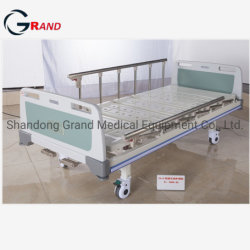 O melhor preço China ABS Manual cabeça pendente dois Agitar Hospital FUNCIONAL DE CASAL CAMA DE ENFERMAGEM DO PACIENTE