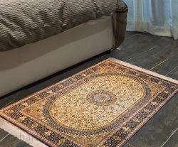 Handgemachte Silk Fußboden-Teppiche für Wohnzimmer-Wolldecken (MH-S/C-H-2009137)