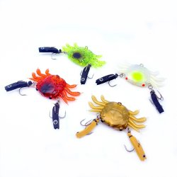 カニの魅惑釣魅惑の釣り道具の柔らかさの魅惑