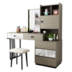 غرفة نوم طاولة Nordic Dressing صغيرة شقة ملابس طاولة ملابس مزدوجة طاولة فساتين الألواح الكلاسيكية جدول اقتصادي 0005