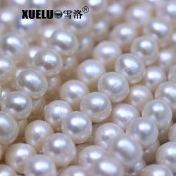AAA de 8-9mm la ronda de buena calidad de Perla cultivada de naturales de la granja de perlas de agua dulce, Zhuji Pearl (XL180101)
