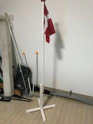 Wirtschaft-Schreibtisch-hölzerne Tisch-Markierungsfahnen-Unterseite Pole