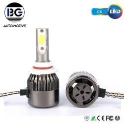 C6 LED Auto-Birnen H7 H4 H11 9005 9006 des Beleuchtung-Auto-Selbst30w hohe Lumen-LED