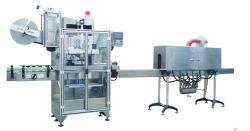 びん詰めにされた水、飲み物のための高品質の憶病なラベラーか収縮の袖機械または包装機械