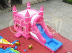 Big Amusement Park all'aperto, Big Gommone Castle con Corso gonfiabile di scivoli e ostacoli gonfiabili dal Castello gonfiabile della Cina