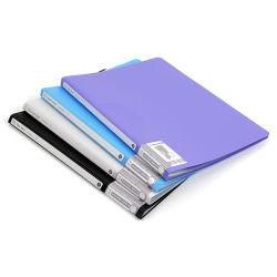 플라스틱 파일 포켓 폴더 덮개는을%s 가진 주문 설계한다